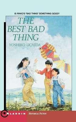 Collection sample book cover The Best Bad Thing, 3 people flying a kite