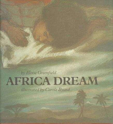 Collection sample book cover Africa Dream, person laying on pillow